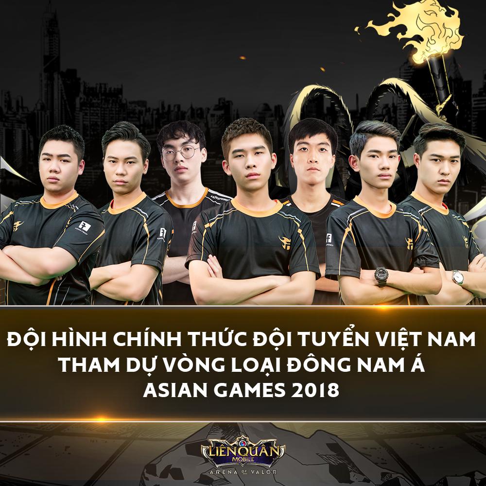 Tại Vòng loại Đông Nam Á, đội hình đội tuyển Việt Nam sẽ có sự góp mặt của  XB và ProE