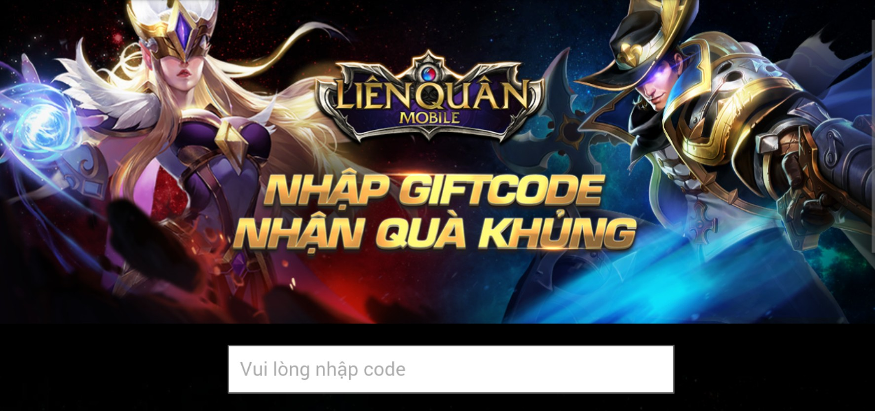 giftcode lien quan mobile